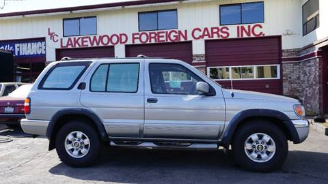 1999 Nissan Pathfinder for sale in Lakewood, WA
