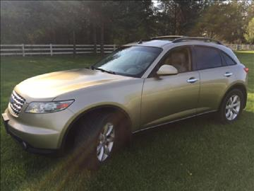 2005 Infiniti FX35 for sale in Plain City, OH