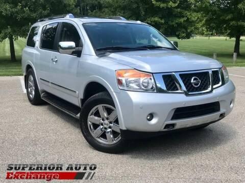 2013 Nissan Armada for sale at iAuto in Cincinnati OH