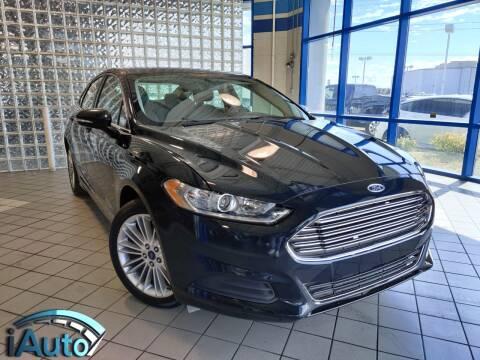 2014 Ford Fusion for sale at iAuto in Cincinnati OH