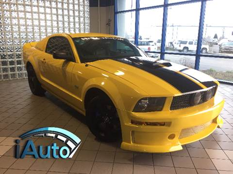 2006 Ford Mustang GT Premium for sale at iAuto in Cincinnati OH