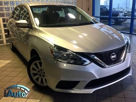 2016 Nissan Sentra for sale at iAuto in Cincinnati OH