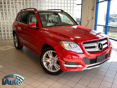 2014 Mercedes-Benz GLK GLK 350 4MATIC for sale at iAuto in Cincinnati OH