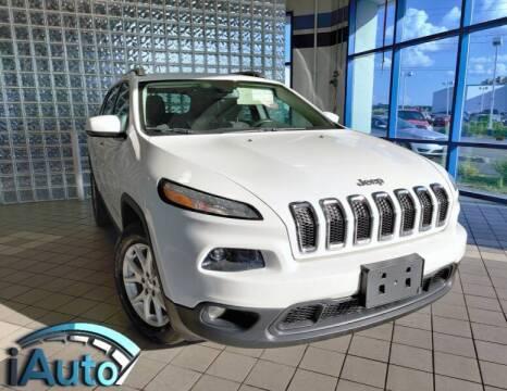 2015 Jeep Cherokee for sale at iAuto in Cincinnati OH