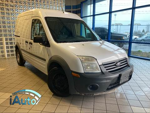 2011 Ford Transit Connect Cargo Van XL for sale at iAuto in Cincinnati OH