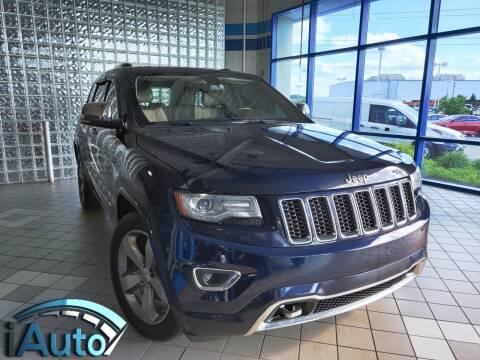2014 Jeep Grand Cherokee Overland for sale at iAuto in Cincinnati OH