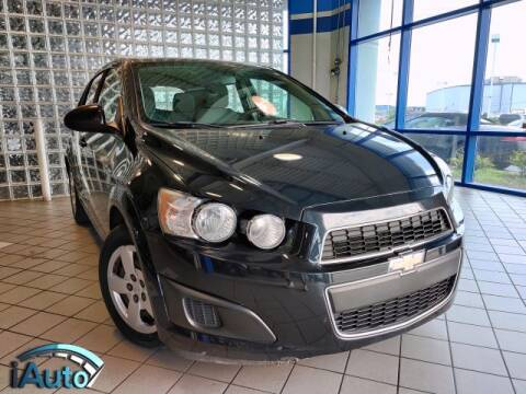 2013 Chevrolet Sonic for sale at iAuto in Cincinnati OH
