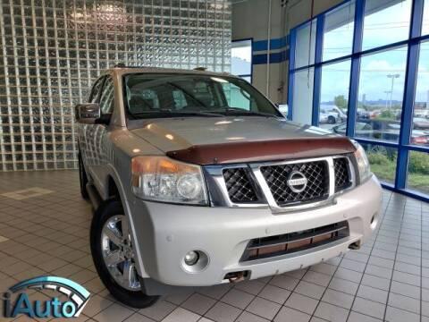 2012 Nissan Armada for sale at iAuto in Cincinnati OH