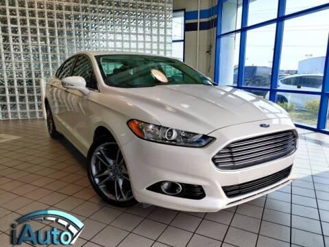 2013 Ford Fusion for sale at iAuto in Cincinnati OH