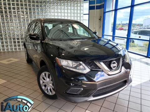 2015 Nissan Rogue for sale at iAuto in Cincinnati OH