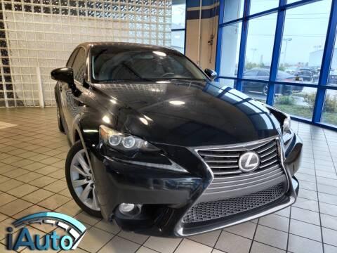 2014 Lexus IS 250 for sale at iAuto in Cincinnati OH