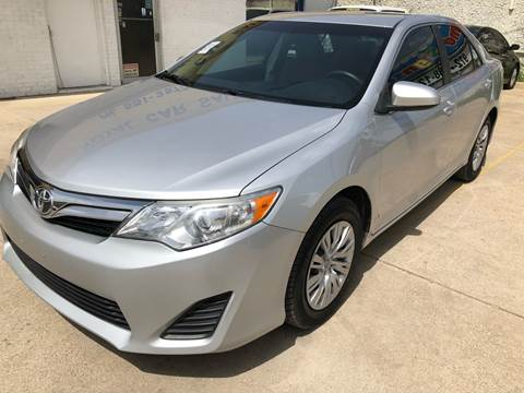 2012 Toyota Camry for sale at Best Royal Car Sales in Dallas TX