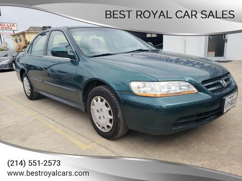 2002 Honda Accord for sale in Dallas, TX