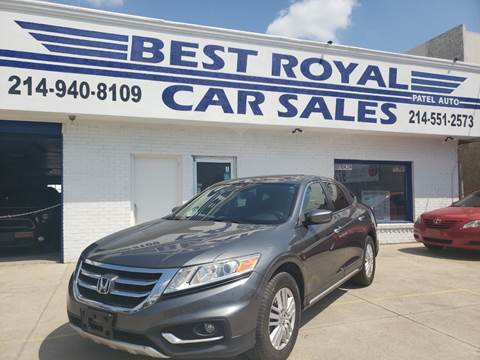 2013 Honda Crosstour for sale in Dallas, TX