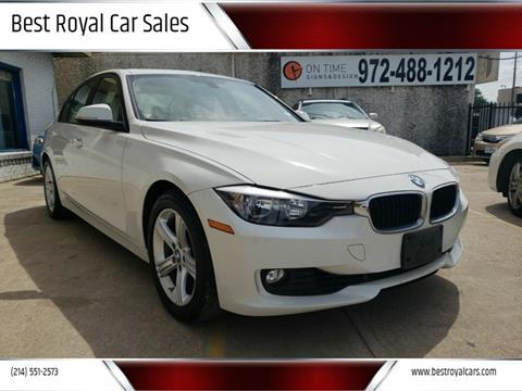 2014 BMW 3 Series for sale at Best Royal Car Sales in Dallas TX