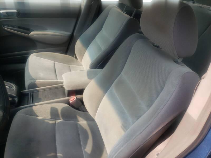 2009 Honda Civic LX 4dr Sedan 5A - Dallas TX