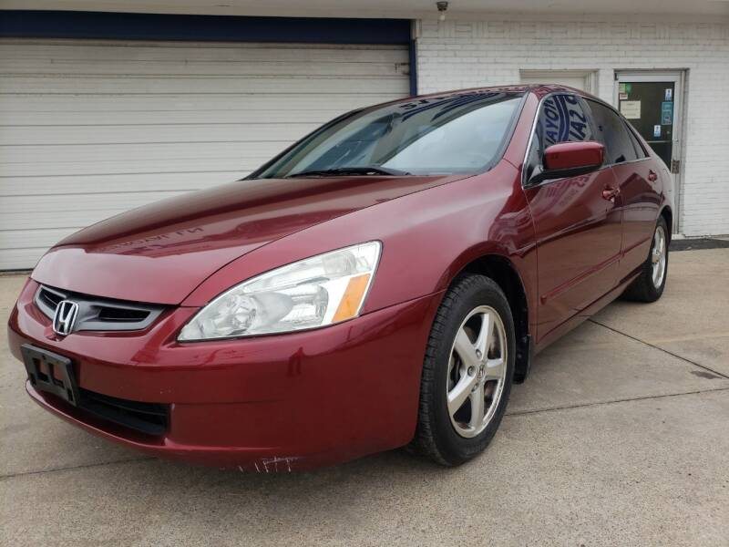 2005 Honda Accord EX 4dr Sedan w/Leather - Dallas TX