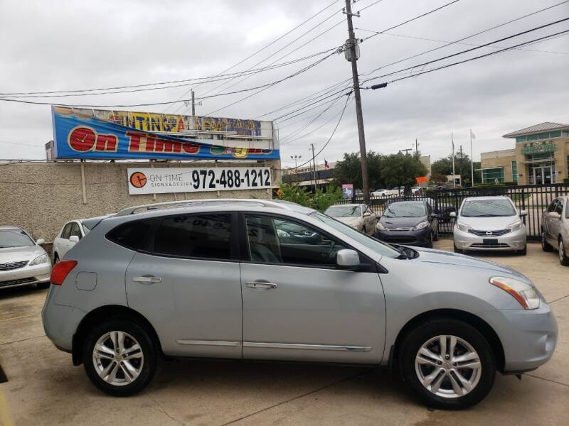 2012 Nissan Rogue SV w/SL Package 4dr Crossover - Dallas TX