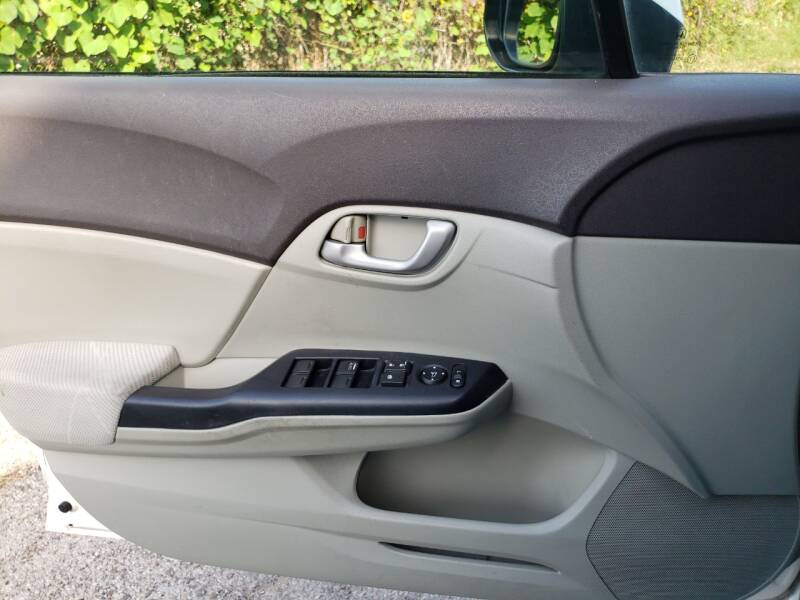 2012 Honda Civic LX 4dr Sedan 5A - Dallas TX