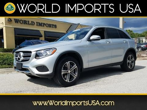 2016 Mercedes-Benz GLC for sale in Jacksonville, FL