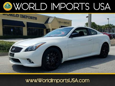 2015 Infiniti Q60 Coupe for sale in Jacksonville, FL