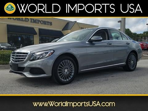 Mercedes benz c class for sale in jacksonville fl for Jacksonville mercedes benz dealership