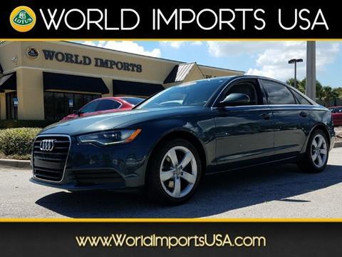 2012 Audi A6 for sale in Jacksonville, FL