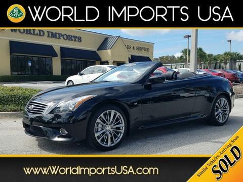 2014 Infiniti Q60 Convertible for sale in Jacksonville, FL