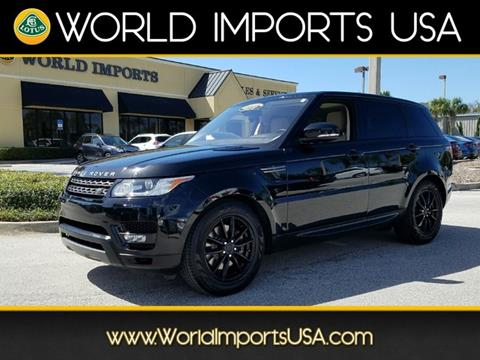 2016 Land Rover Range Rover Sport for sale in Jacksonville, FL