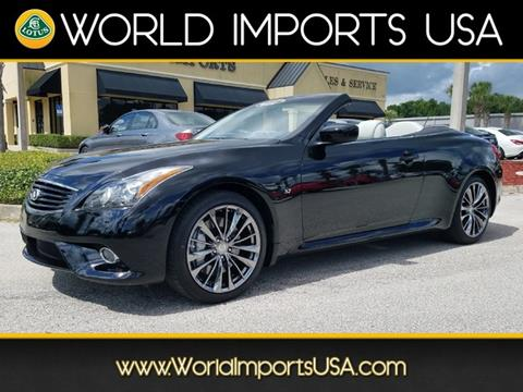 Infiniti Q60 Convertible For Sale In Hubbard Oh Carsforsale
