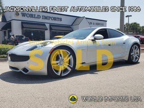 2012 Fisker Karma for sale in Jacksonville, FL