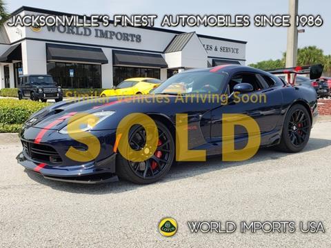 2016 Dodge Viper for sale in Jacksonville, FL