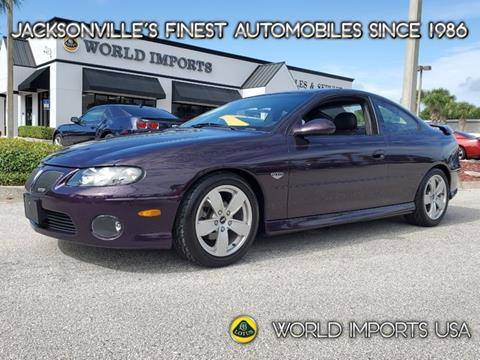 2004 Pontiac GTO for sale in Jacksonville, FL
