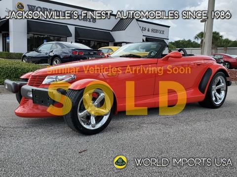 1999 Plymouth Prowler for sale in Jacksonville, FL