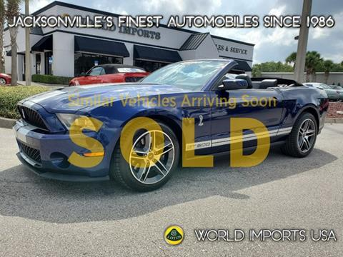 2010 Ford Shelby GT500 for sale in Jacksonville, FL