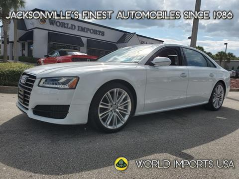 2017 Audi A8 L for sale in Jacksonville, FL