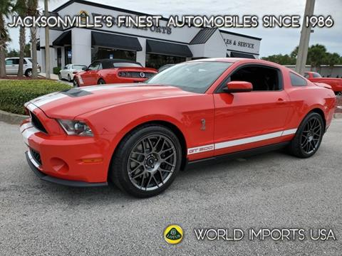 2012 Ford Shelby GT500 for sale in Jacksonville, FL