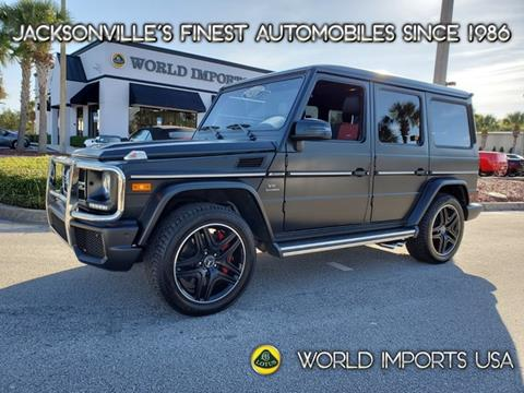 2017 Mercedes-Benz G-Class for sale in Jacksonville, FL