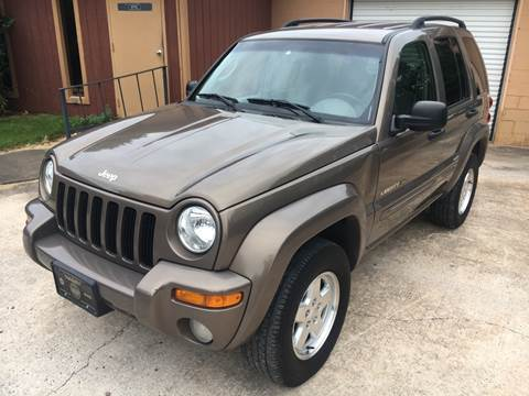 2002 Jeep Liberty for sale in Milton, GA