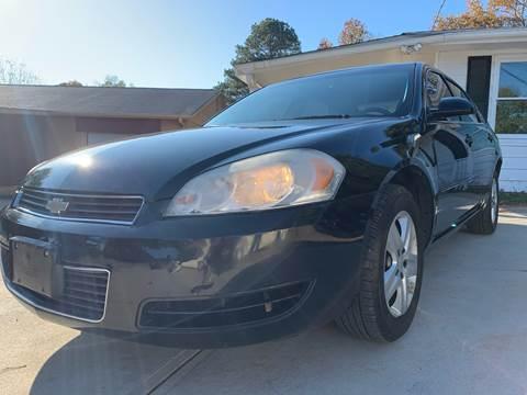 2007 Chevrolet Impala for sale in Milton, GA
