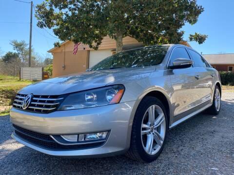 2012 Volkswagen Passat TDI SEL Premium for sale at Efficiency Auto Buyers in Milton GA