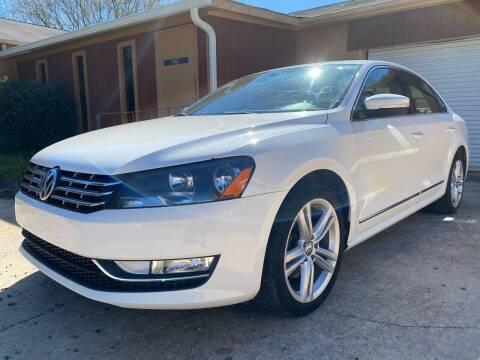 2013 Volkswagen Passat TDI SEL Premium for sale at Efficiency Auto Buyers in Milton GA