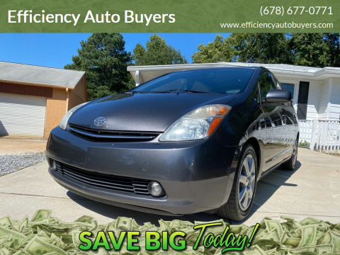2009 Toyota Prius for sale at Efficiency Auto Buyers in Milton GA