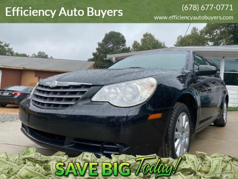 2010 Chrysler Sebring for sale at Efficiency Auto Buyers in Milton GA