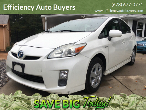 2010 Toyota Prius for sale at Efficiency Auto Buyers in Milton GA
