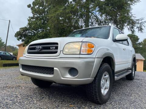 2002 Toyota Sequoia for sale at Efficiency Auto Buyers in Milton GA