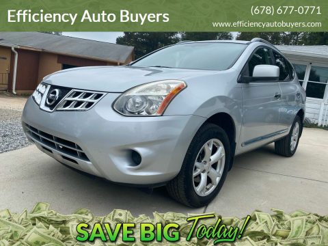 2011 Nissan Rogue for sale at Efficiency Auto Buyers in Milton GA