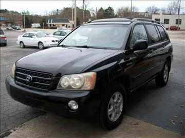 2003 Toyota Highlander for sale in Wake Forest, NC