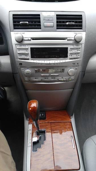 2010 toyota camry xle interior