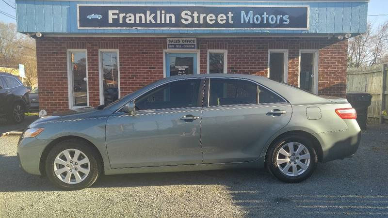 2009 toyota camry xle v6 4dr sedan 6a in chapel hill nc franklin street motors. Black Bedroom Furniture Sets. Home Design Ideas
